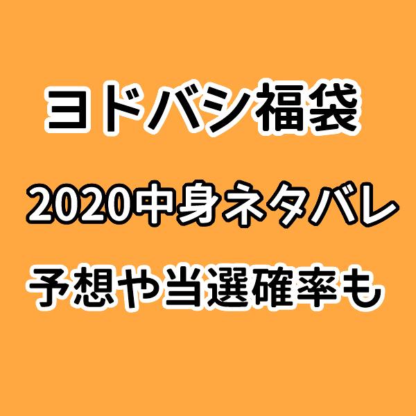 ヨドバシ福袋2020の中身予想とネタバレ!当選確率や初売り情報も!