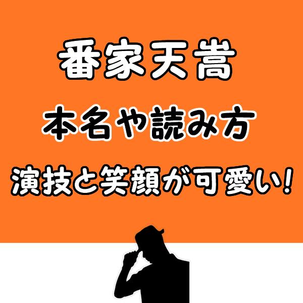 【テセウスの船】慎吾の子役は番家天嵩で本名は?演技力と笑顔が可愛い!