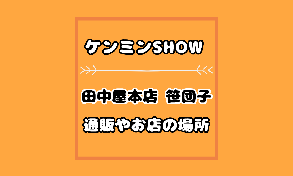 団子 田中屋 本店 笹 【新潟直送計画】笹団子の通販 ギフト